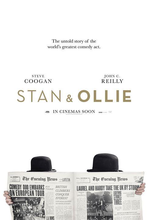 El Gordo y el Flaco (Stan & Ollie) : Cartel