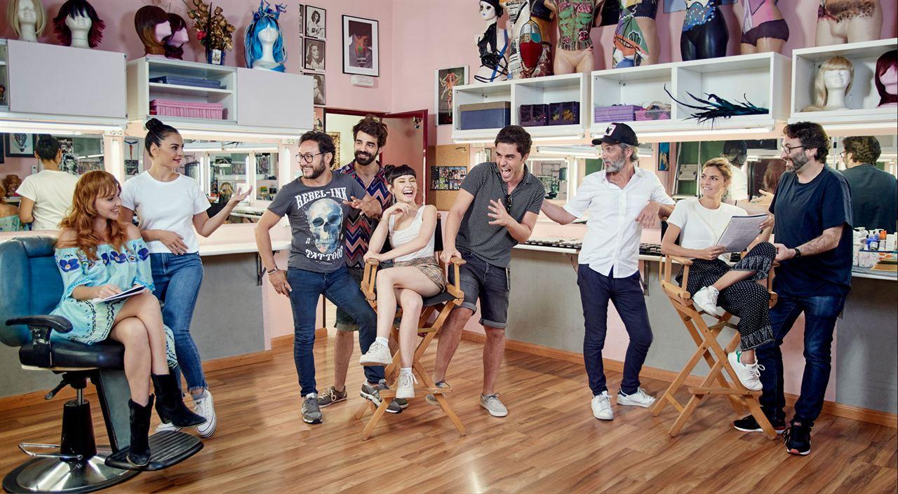 Lo dejo cuando quiera : Foto Amaia Salamanca, Carlos Santos, Cristina Castaño, David Verdaguer, Ernesto Alterio