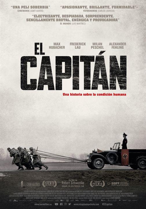 El capitán : Cartel