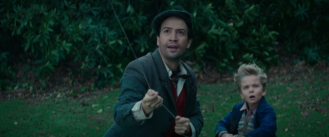 El regreso de Mary Poppins : Foto Joel Dawson, Lin-Manuel Miranda