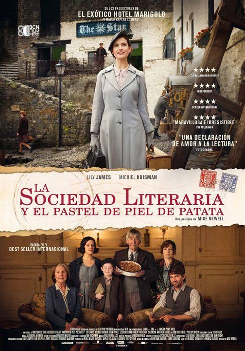La sociedad literaria y el pastel de piel de patata : Cartel