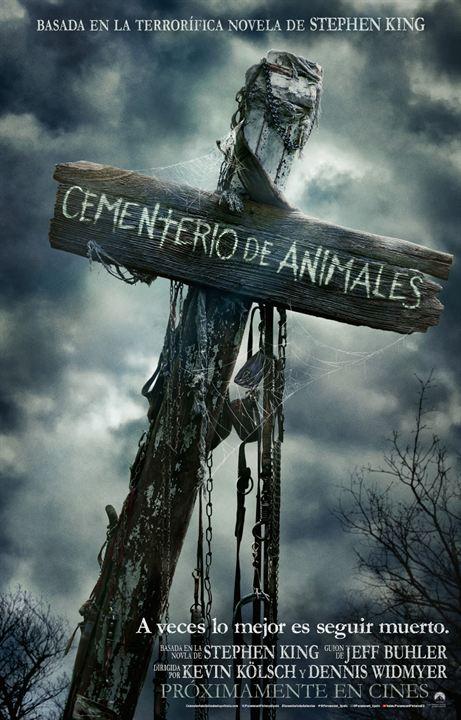 Cementerio de animales : Cartel