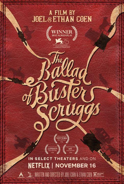 La balada de Buster Scruggs : Cartel