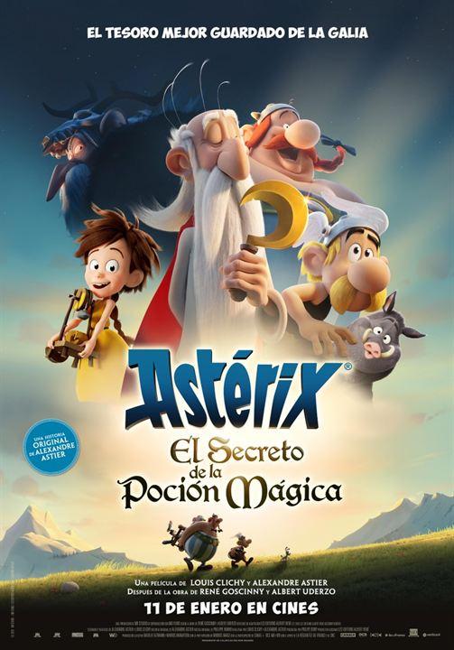 Astérix: El secreto de la poción mágica : Cartel