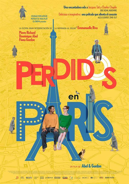 Perdidos en París : Cartel
