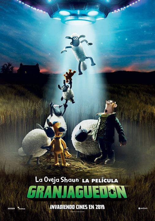 La oveja Shaun, la película: Granjaguedon : Cartel