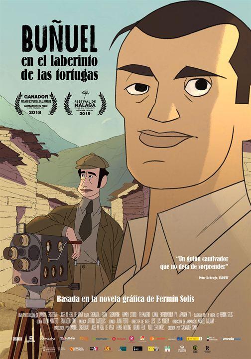 Buñuel en el laberinto de las tortugas : Cartel