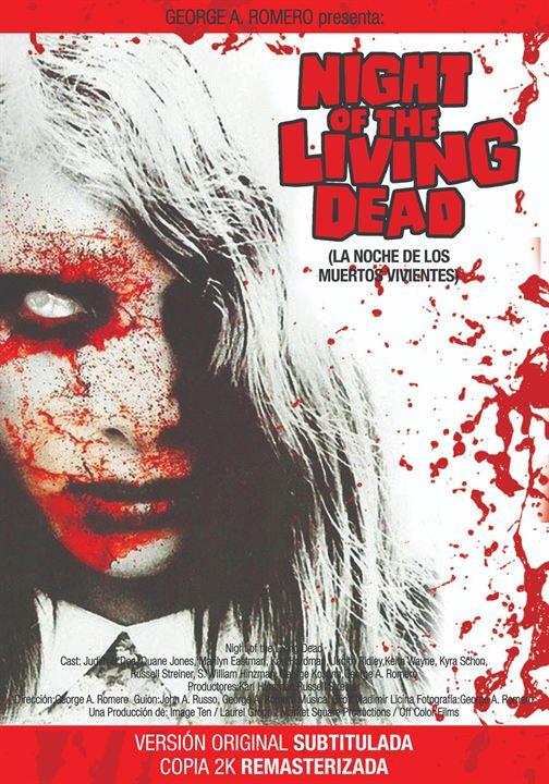 La noche de los muertos vivientes : Cartel