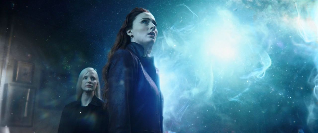 X-Men: Fénix Oscura : Foto Jessica Chastain, Sophie Turner