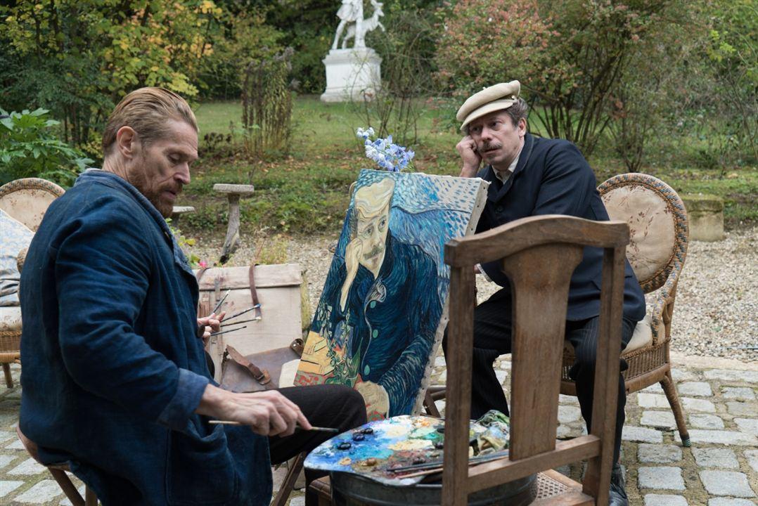Van Gogh, a las puertas de la eternidad: Willem Dafoe, Mathieu Amalric