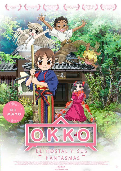 Okko, el hostal y sus fantasmas : Cartel
