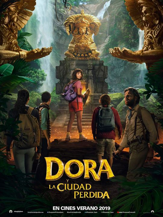 Dora y la Ciudad Perdida : Cartel