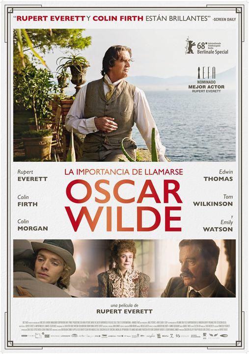 La importancia de llamarse Oscar Wilde : Cartel