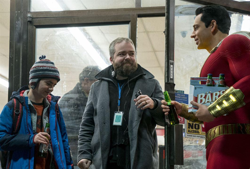 ¡Shazam! : Foto David F. Sandberg, Zachary Levi