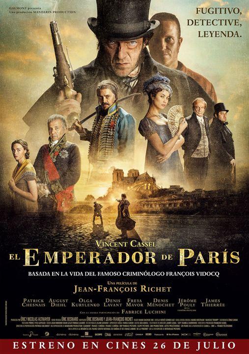 El emperador de París : Cartel