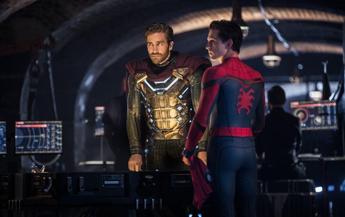 Spider-Man: Lejos de casa : Foto Jake Gyllenhaal, Tom Holland
