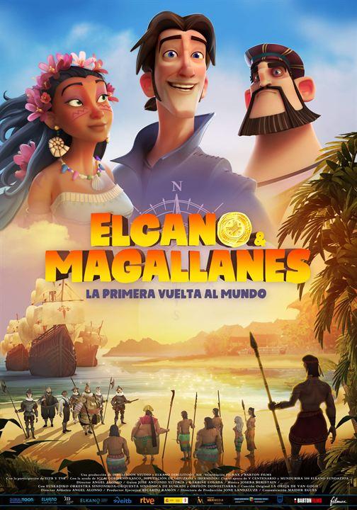 Elcano y Magallanes: La primera vuelta al mundo : Cartel