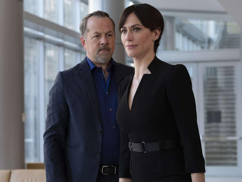 Foto David Costabile, Maggie Siff