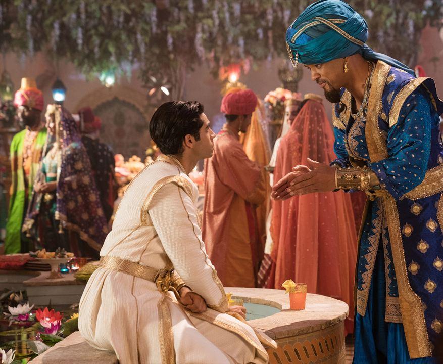 Aladdin : Foto Mena Massoud, Will Smith