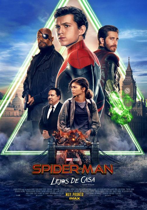 Spider-Man: Lejos de casa : Cartel