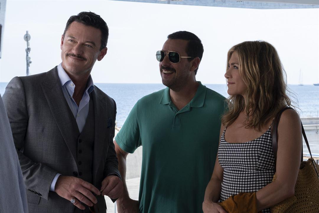 Criminales en el mar : Foto Adam Sandler, Jennifer Aniston, Luke Evans