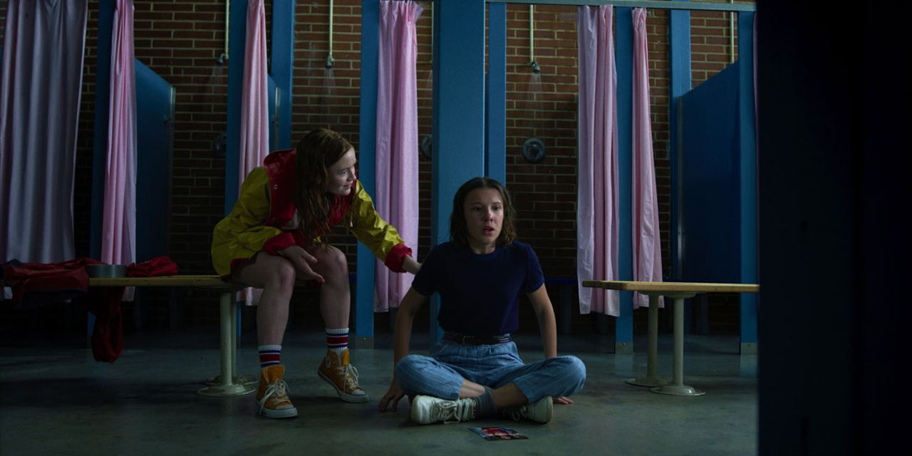 Foto Millie Bobby Brown, Sadie Sink