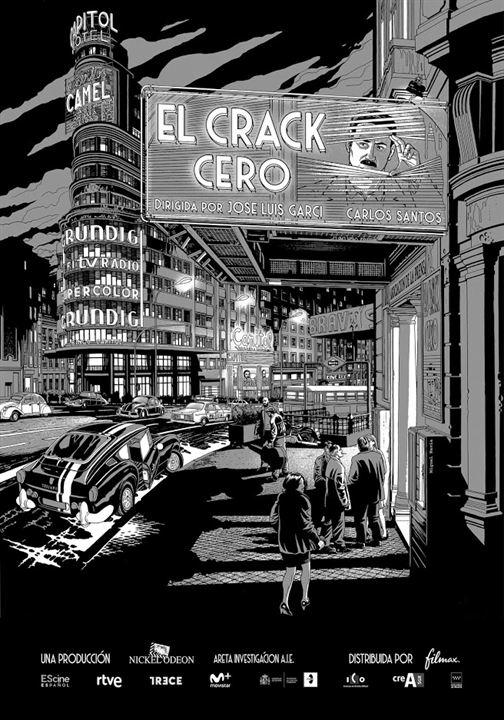 El crack cero : Cartel