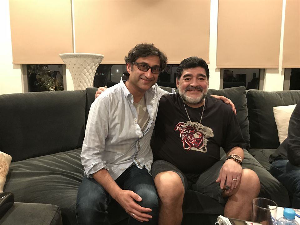 Diego Maradona : Foto Asif Kapadia