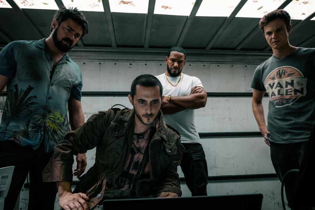 Foto Jack Quaid, Karl Urban, Laz Alonso, Tomer Capon