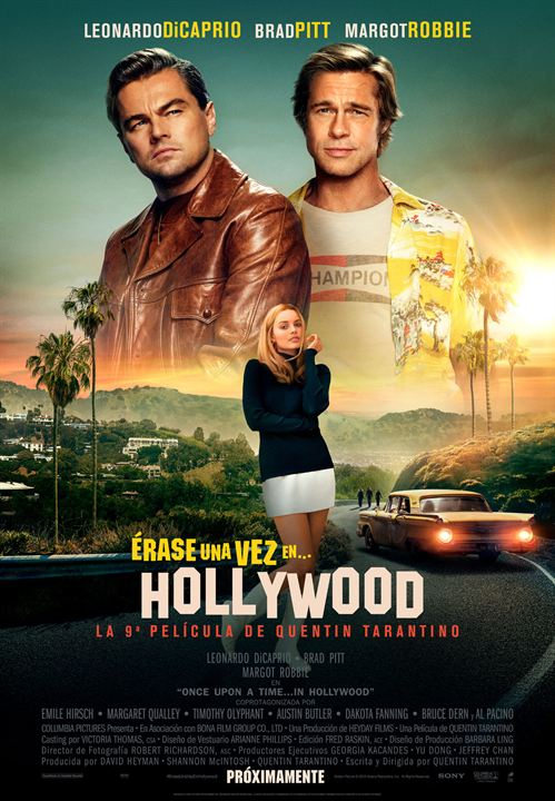 Érase una vez en... Hollywood : Cartel