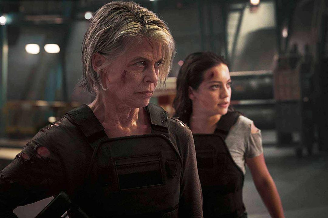Terminator: Destino oscuro : Foto Linda Hamilton, Natalia Reyes