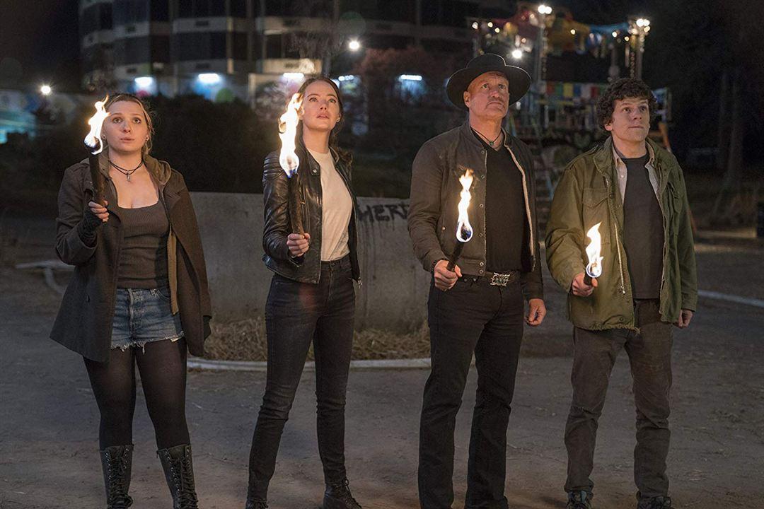 Zombieland: Mata y remata : Foto Abigail Breslin, Emma Stone, Jesse Eisenberg, Woody Harrelson