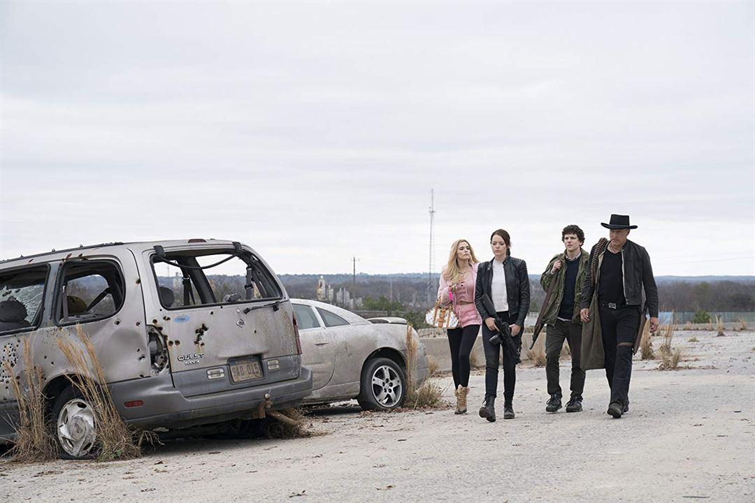 Zombieland: Mata y remata : Foto Emma Stone, Jesse Eisenberg, Woody Harrelson, Zoey Deutch