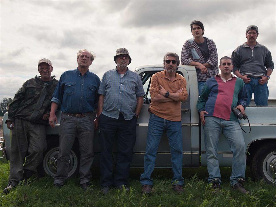La odisea de los Giles : Foto Andrés Parra, Chino Darín, Daniel Aráoz, Luis Brandoni, Ricardo Darín