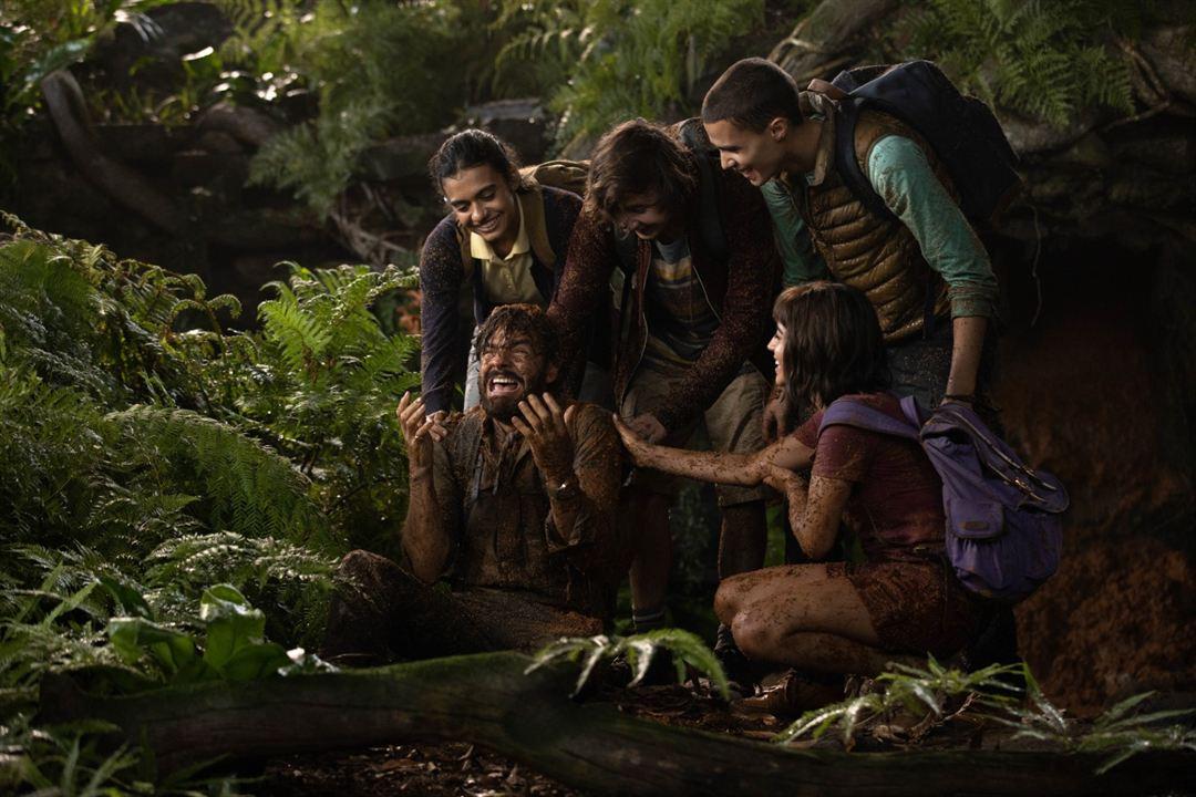 Dora y la Ciudad Perdida : Foto Eugenio Derbez, Isabela Merced, Jeffrey Wahlberg, Madeleine Madden, Nicholas Coombe