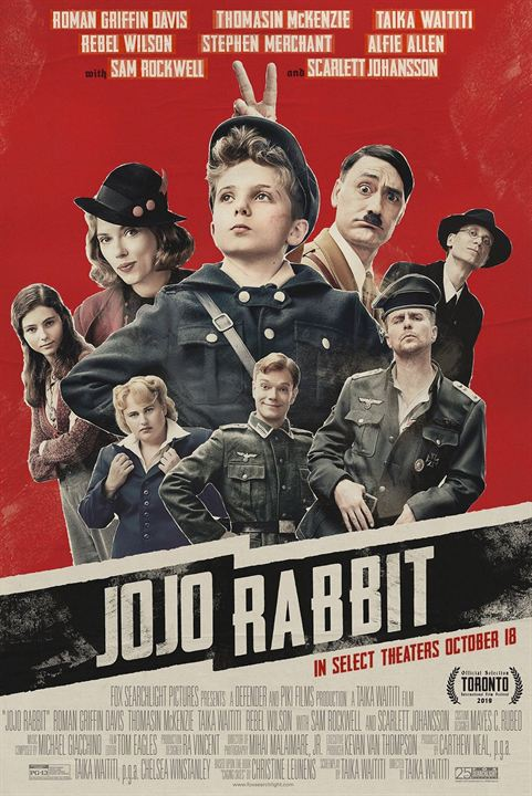 Jojo Rabbit : Cartel