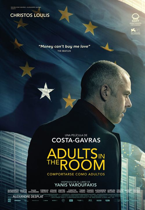Adults in the Room (Comportarse como adultos) : Cartel