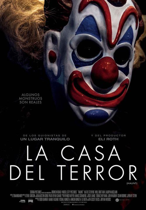 La casa del terror : Cartel
