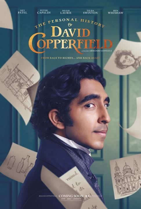 The Personal History Of David Copperfield : Cartel