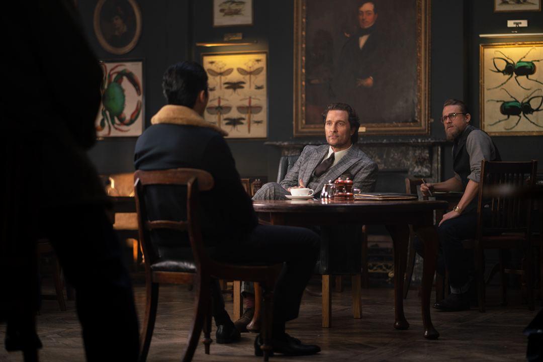 The Gentlemen: Los señores de la mafia : Foto Charlie Hunnam, Matthew McConaughey
