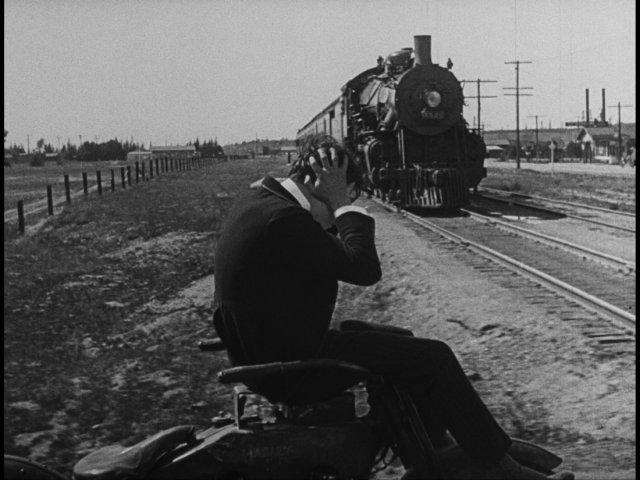 El moderno Sherlock Holmes : Foto Buster Keaton