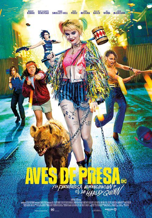 Aves de Presa (y la fantabulosa emancipación de Harley Quinn) : Cartel
