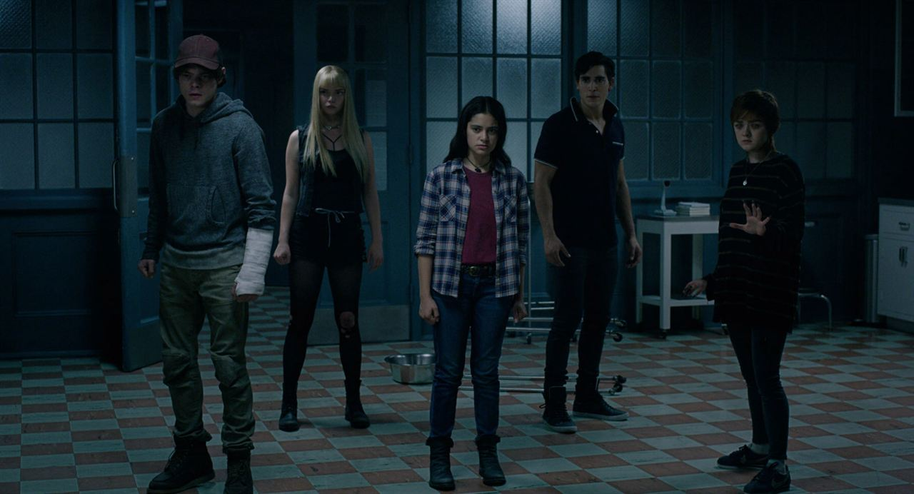 Los Nuevos Mutantes : Foto Anya Taylor-Joy, Blu Hunt, Charlie Heaton, Henry Zaga, Maisie Williams
