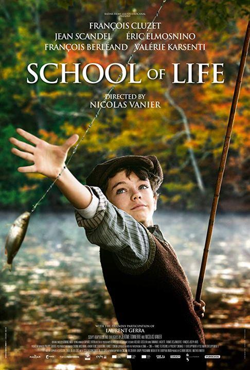 La escuela de la vida : Cartel