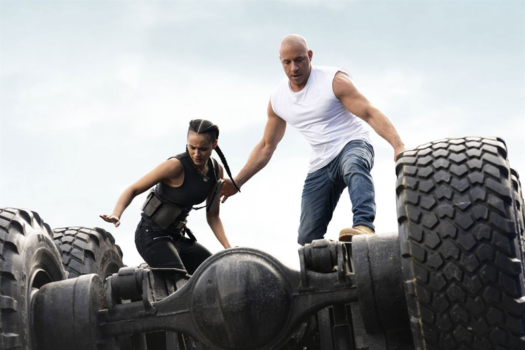 Fast & furious 9. La saga Fast & Furious : Foto Nathalie Emmanuel, Vin Diesel