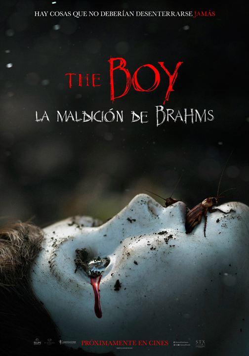 The Boy. La maldición de Brahms : Cartel