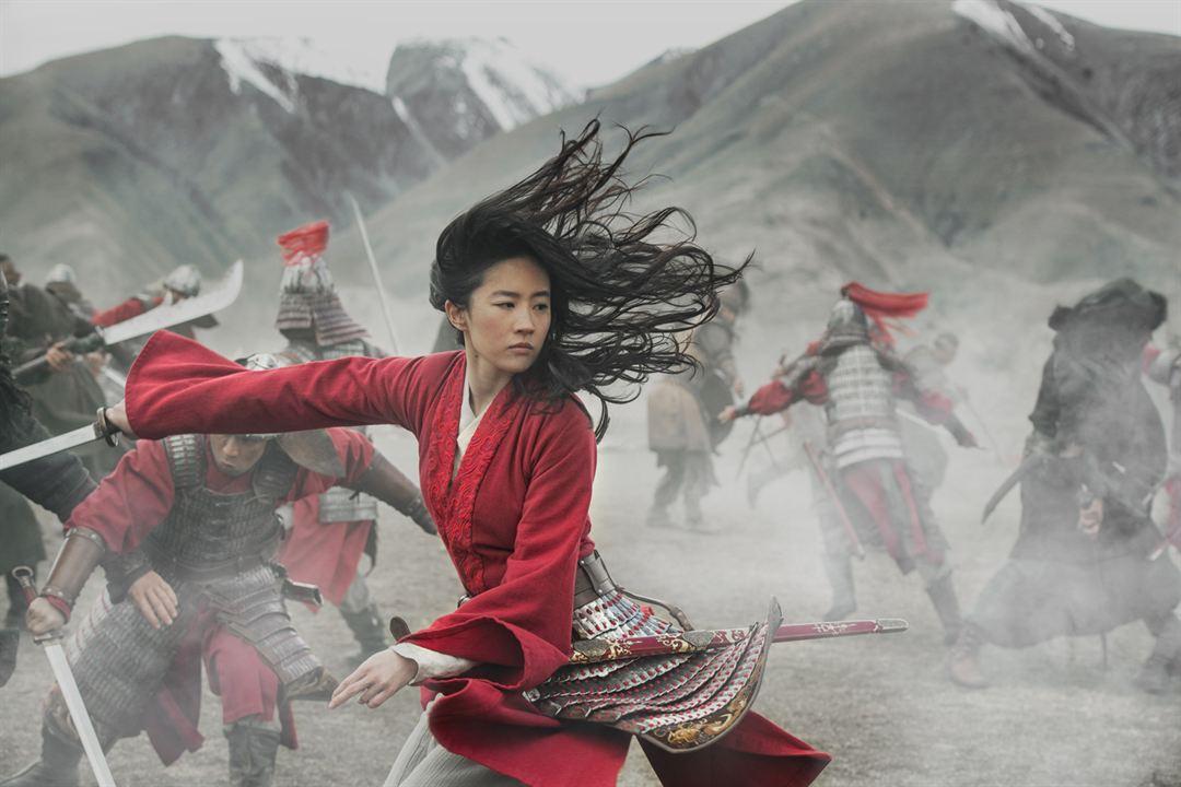 Mulán : Foto Yifei Liu