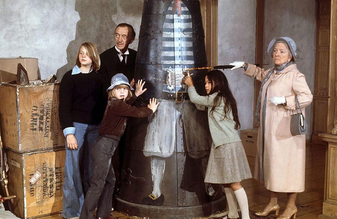 El secreto del castillo : Foto David Niven, Helen Hayes, Jodie Foster