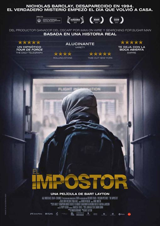 El Impostor : Cartel