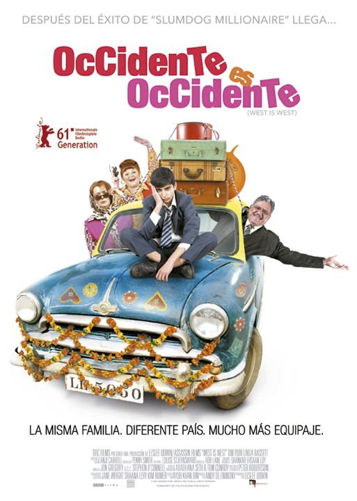 Occidente es occidente : Cartel